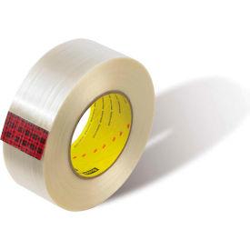 """3M™ Scotch® 8919MSR Filament Tape 4"""" x 60 Yds. 7 Mil Clear - Pkg Qty 8"""