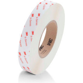 "3M XT2112 X-Series Hi-Tack Transfer Tape 3/4"" x 60 Yds. 5 Mil White Package..."
