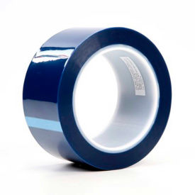 "3M Polyester Tape 8991 2""W x 72 Yards - Blue - Pkg Qty 24"
