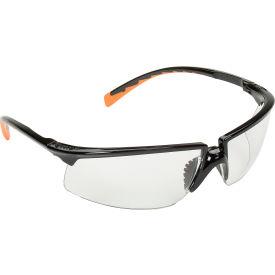 3M™ Privo™ Protective Eyewear, Clear Lens, Black Frame, 1 Each