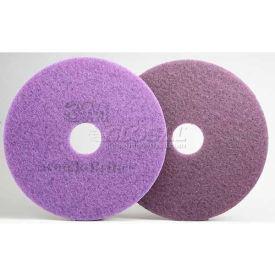 3M™ Scotch-Brite™ Purple Diamond Floor Pad Plus, 14 in, 5/case, FN510077343