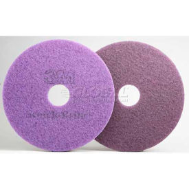3M™ Scotch-Brite™ Purple Diamond Floor Pad Plus, 24 in, 5/case, FN510080990