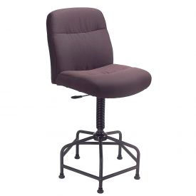 Interion™ Big & Tall Stool With Glides
