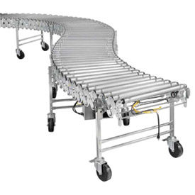 Nestaflex Powered Portable Flexible & Expandable Roller Conveyors