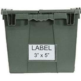 """Aigner BB-35 Label Holder 3""""x5"""" for Shipping Containers Price per Pack of 25"""