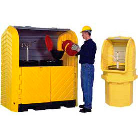 Lockable Outdoor Containment Units