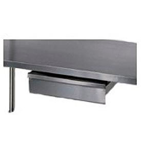 """Aero Manufacturing T120A 15""""W x 20""""D x 5""""H Stainless Steel Drawer for Stainless Steel Workbench"""