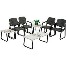Paramount™ Reception Chairs -- Choice Of Leather Or Fabric Upholstery