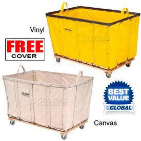 Canvas & Vinyl Bulk Basket Trucks