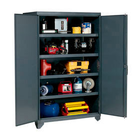 All Welded Heavy Duty 14 Gauge Cabinets – Up To 1800 Lb Shelf Capacity