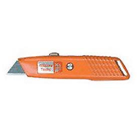 Retractable Ergo-Grip Box Cutter With 3 Blades - Pkg Qty 10