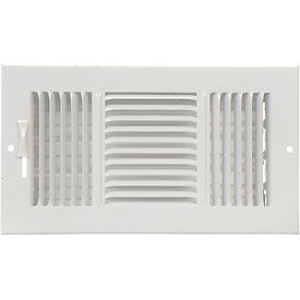 AmeriFlow® 3-Way Ceiling / Sidewall Register - Pkg Qty 20