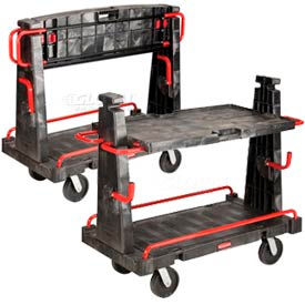 "Rubbermaid Convertible ""A"" Frame Panel & Sheet Mover Truck"