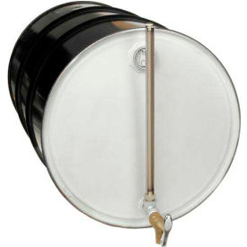 Drum Fill Gauge With Self-Closing Faucet