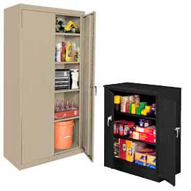 All-Welded Storage Cabinets - Commercial And Industrial Grade