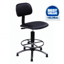 Paramount™ Vinyl Production Stool With Footring