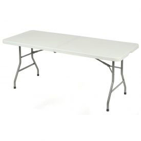 "Compact Fold In Half 72"" x 29"" Table"