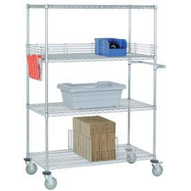 Stainless Steel Wire Shelf Trucks