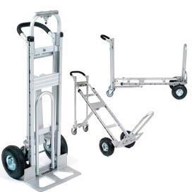 Aluminum 3-in-1 Convertible Hand Trucks