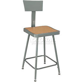 Interion™ - Square Seat Shop Stools