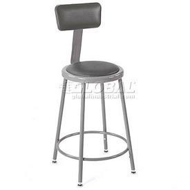 Paramount™ Vinyl Upholstered Shop Stool