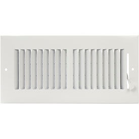 2-Way Ceiling / Sidewall Register - Pkg Qty 10