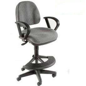 Interion™ - Body Sensitive Stool With 180° Footrest