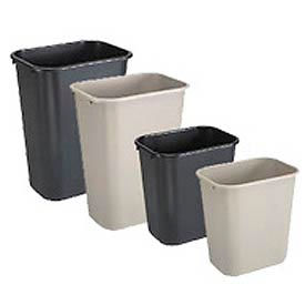 waste disposal these trash cans easily fit under standard desks great