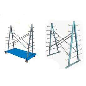 Horizontal Bar Storage Rack & Cart