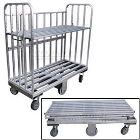 B&P Folding Aluminum Shelf Truck