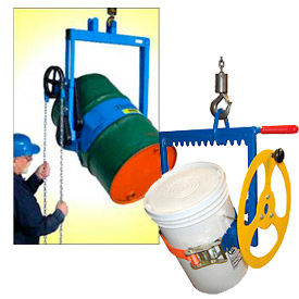 Crane or Hoist Suspended Tilting Drum Dumpers