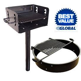 Inground Charcoal Grills