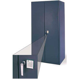 Heavy Duty Electronic Locking Security Cabinets - 14 Gauge