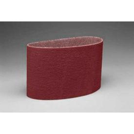 Pack of 50 3 Diameter x 3 Width Brown P120 Grit 3M Cloth Band 341D