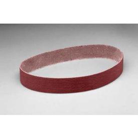 """3M™ Cloth Belt 341D 2"""" x 60"""" 80 Grit Aluminum Oxide - Pkg Qty 25"""