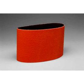 "3M™ Cloth Belt 707E 3-1/2"" x 15-1/2"" P120 Grit Ceramic - Pkg Qty 50"