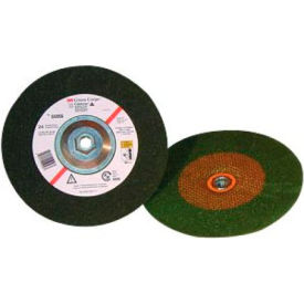 "3M™ Green Corps™ Depressed Center Wheel 665454-1/2""x 1/4""x 7/8"" T27 Ceramic 36 Grit - Pkg Qty 40"