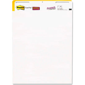 """Post-it® Easel Pads Self-Stick Wall Easel UnRule Pad 559STB, 25"""" x 30"""", White, 30 Shts, 2/Pack"""