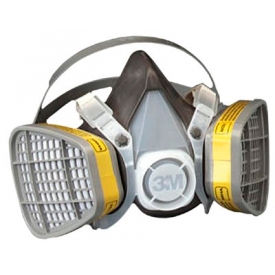 3M 5000 Series Half Facepiece Respirators, 5303