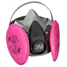3M™ 6000 Series Half Facepiece Respirator Assembly, 6291