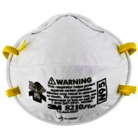 3M 8210PLUS N95 Particulate Respirators, , Box of 20