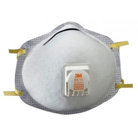 3M N95 Particulate Respirators, 8516, Box of 10