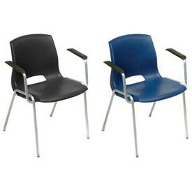 Paramount™ Merion Vented Back Molded Chairs With Arms