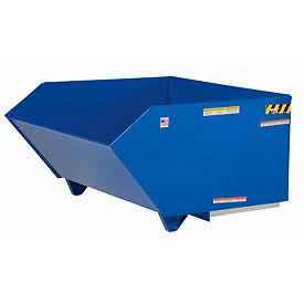 Low-Profile Self-Dumping Steel Forklift Hoppers