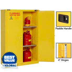 Global™Flammable Cabinets