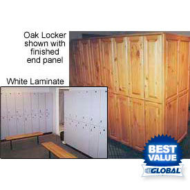 Wood And Plastic Laminate Lockers