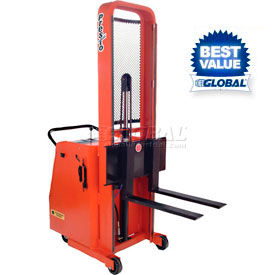 PrestoLifts™ Battery Operated Power Lift Counter Balanced Stackers