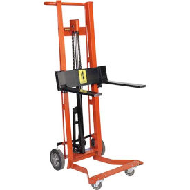 Wesco® Foot Pedal Adjustable Forks Lift Truck 260012 4 Wheel Style 750 Lb.