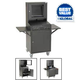 Computer Cabinet Enclosure For LCD Monitors