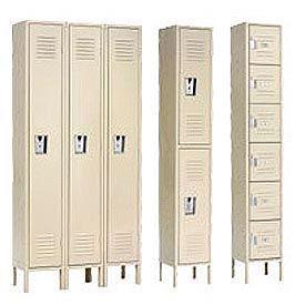 Republic Steel Lockers- Assembled